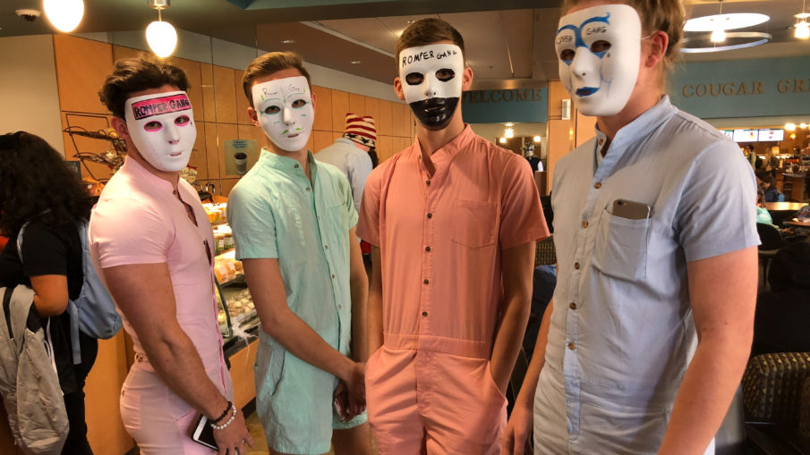 the romper gang takes on fccs halloween costume contest